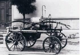 Die 1. Wedderstedter Handdruckspritze Baujahr 1897