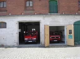 Heutiges Depot auf den Gemeindehof