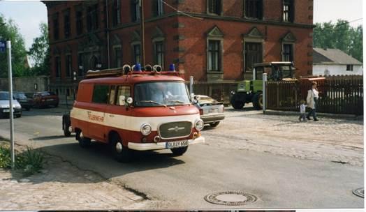 Kleinlöschfahrzeug KLF B1000 Bj. 1968 - Eigentümer vorher Trocknungswerk Gatersleben