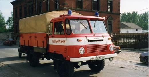 LF 8 Robur LO 2001 Baujahr 1985 - Eigentümer vorher VEB Rohrleitungsbau Aschersleben