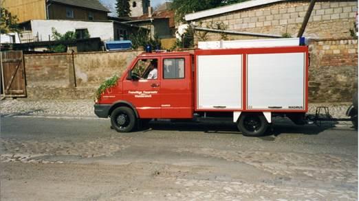 TSF-W Tragkraftspritzenfahzeug mit 750 Liter Wasser